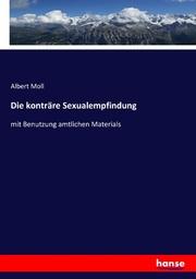 Die konträre Sexualempfindung