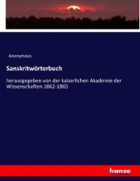 Sanskritwörterbuch