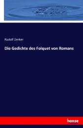 Die Gedichte des Folquet von Romans