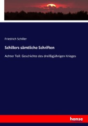 Schillers sämtliche Schriften