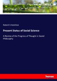 Present Status of Social Science