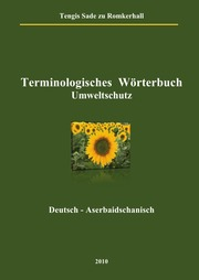 Terminologisches Wörterbuch Umweltschutz