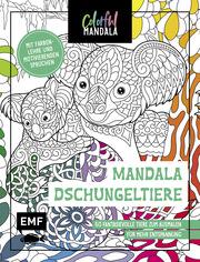 Colorful Mandala - Mandala - Dschungeltiere