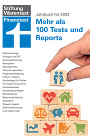 Finanztest Jahrbuch 2022 - Cover
