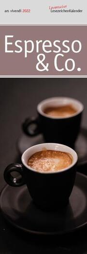 Lit. Lesezeichenkalender Espresso & Co. 2022