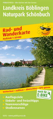 Landkreis Böblingen - Naturpark Schönbuch, Herrenberg - Sindelfingen - Tübingen