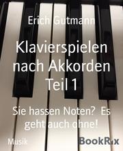 Klavierspielen nach Akkorden Teil 1