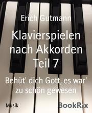 Klavierspielen nach Akkorden Teil 7