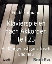 Klavierspielen nach Akkorden Teil 23