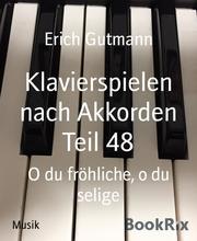 Klavierspielen nach Akkorden Teil 48