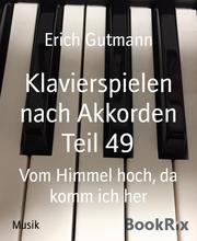 Klavierspielen nach Akkorden Teil 49