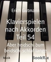 Klavierspielen nach Akkorden Teil 54