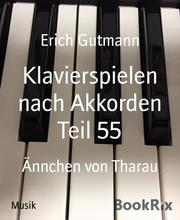 Klavierspielen nach Akkorden Teil 55
