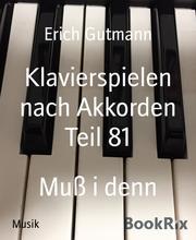 Klavierspielen nach Akkorden Teil 81