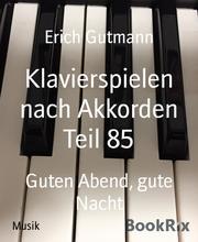 Klavierspielen nach Akkorden Teil 85