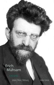 Erich Mühsam Chronik