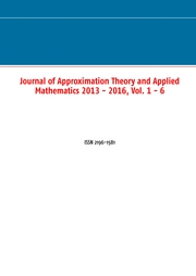 Journal of Approximation Theory and Applied Mathematics 2013 - 2016, Vol. 1 - 6