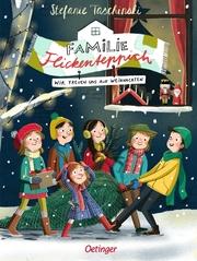 Familie Flickenteppich - Wir freuen uns auf Weihnachten - Cover