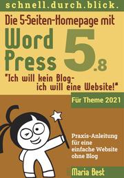 Die 5-Seiten-Homepage mit WordPress 5