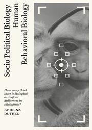 Socio Political Biology Human Behavioral Biology
