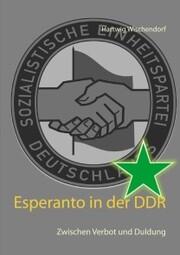 Esperanto in der DDR - Cover