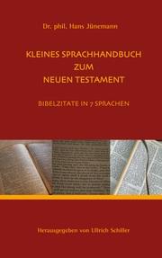 Kleine Sprachhandbuch zum Neuen Testament