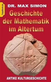 Geschichte der Mathematik im Altertum