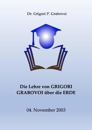 Die Lehre von Grigori Grabovoi über die Erde