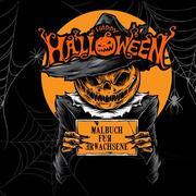 Halloween Malbuch für Erwachsene