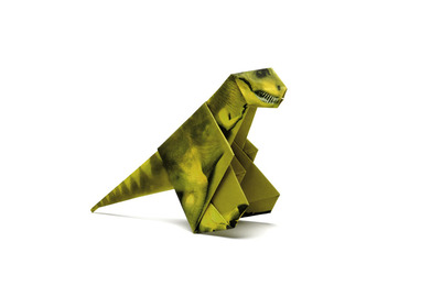 Origami Dinosaurier - Cover