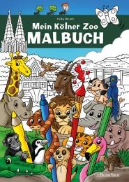 Mein Kölner Zoo Malbuch