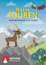 Meine Touren - Wandertagebuch für Kinder - Cover