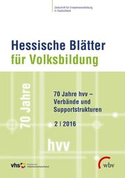 70 Jahre hvv - Verbände und Supportstrukturen