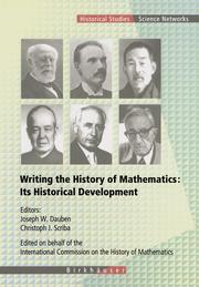 Writing the History of Mathematics