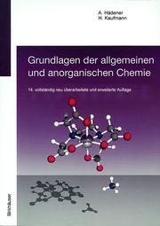 Grundlagen der allgemeinen und anorganischen Chemie