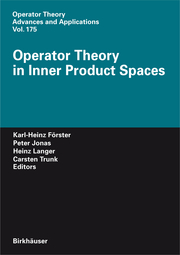 Operator Theory in Inner Product Spaces