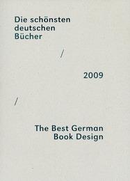 Die schönsten deutschen Bücher/The Best German Book Design 2009