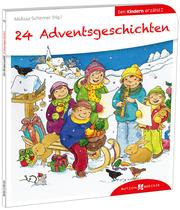 24 Advents-Geschichten den Kindern erzählt