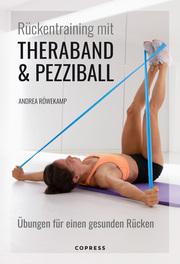 Rückentraining mit Theraband und Pezziball
