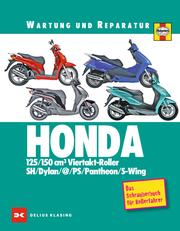 Honda 125/150 cm3 Viertakt-Roller SH/Dylan/at/PS/Pantheon/S-Wing