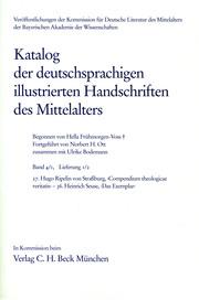 Katalog der deutschsprachigen illustrierten Handschriften des Mittelalters Band 4/1, Lfg. 1/2: 27-36