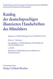 Katalog der deutschsprachigen illustrierten Handschriften des Mittelalters Band 4/1, Lfg.3: 37