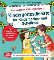 Kindergottesdienste für Kindergarten- und Schulfeste
