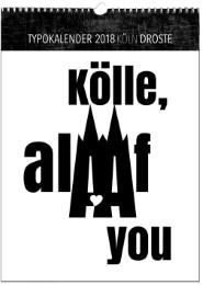 Typokalender Köln 2018