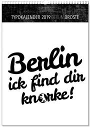 Typokalender Berlin 2019