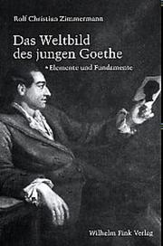 Das Weltbild des jungen Goethe