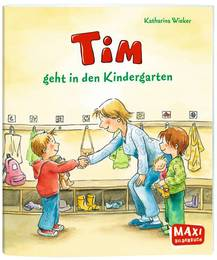 Tim geht in den Kindergarten