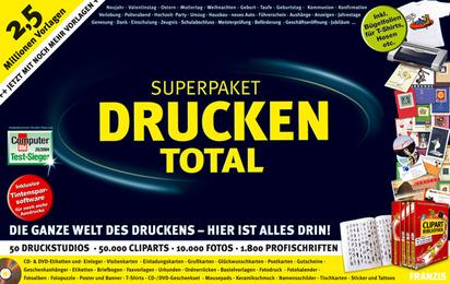 Superpaket Drucken Total