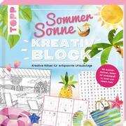 Sommer-Sonne-Kreativblock - Cover