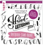 Handlettering, Der Quick-Start-Block